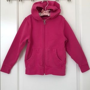 Hanna Andersson Girl's Zipup Hoodie Size 5